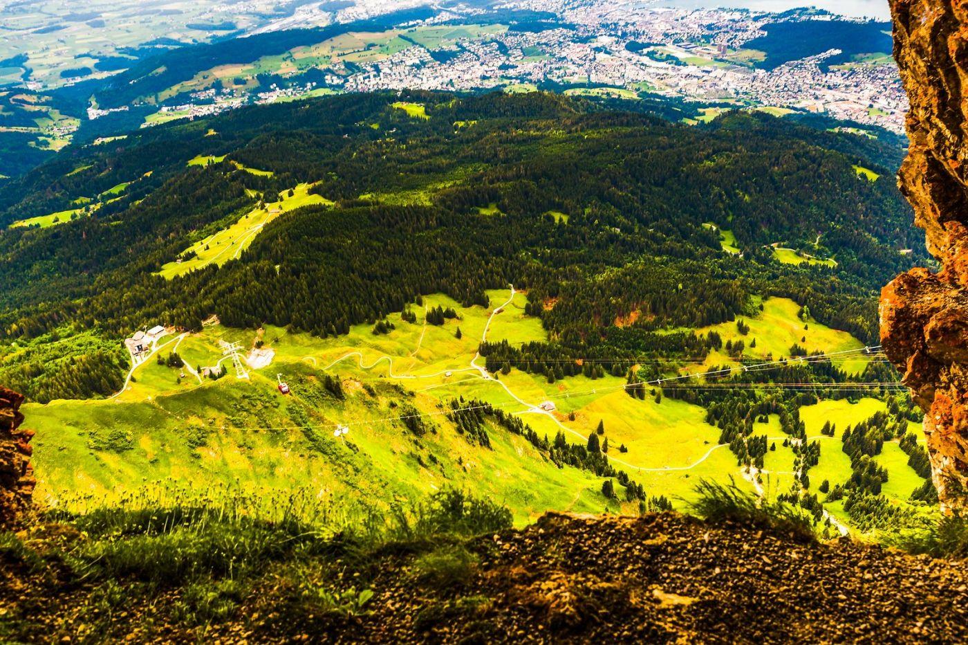 瑞士卢塞恩(Lucerne),山顶眺望_图1-20