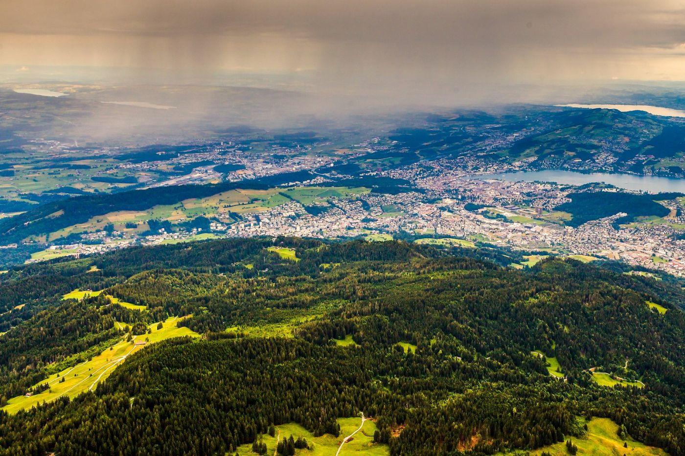瑞士卢塞恩(Lucerne),山顶眺望_图1-18