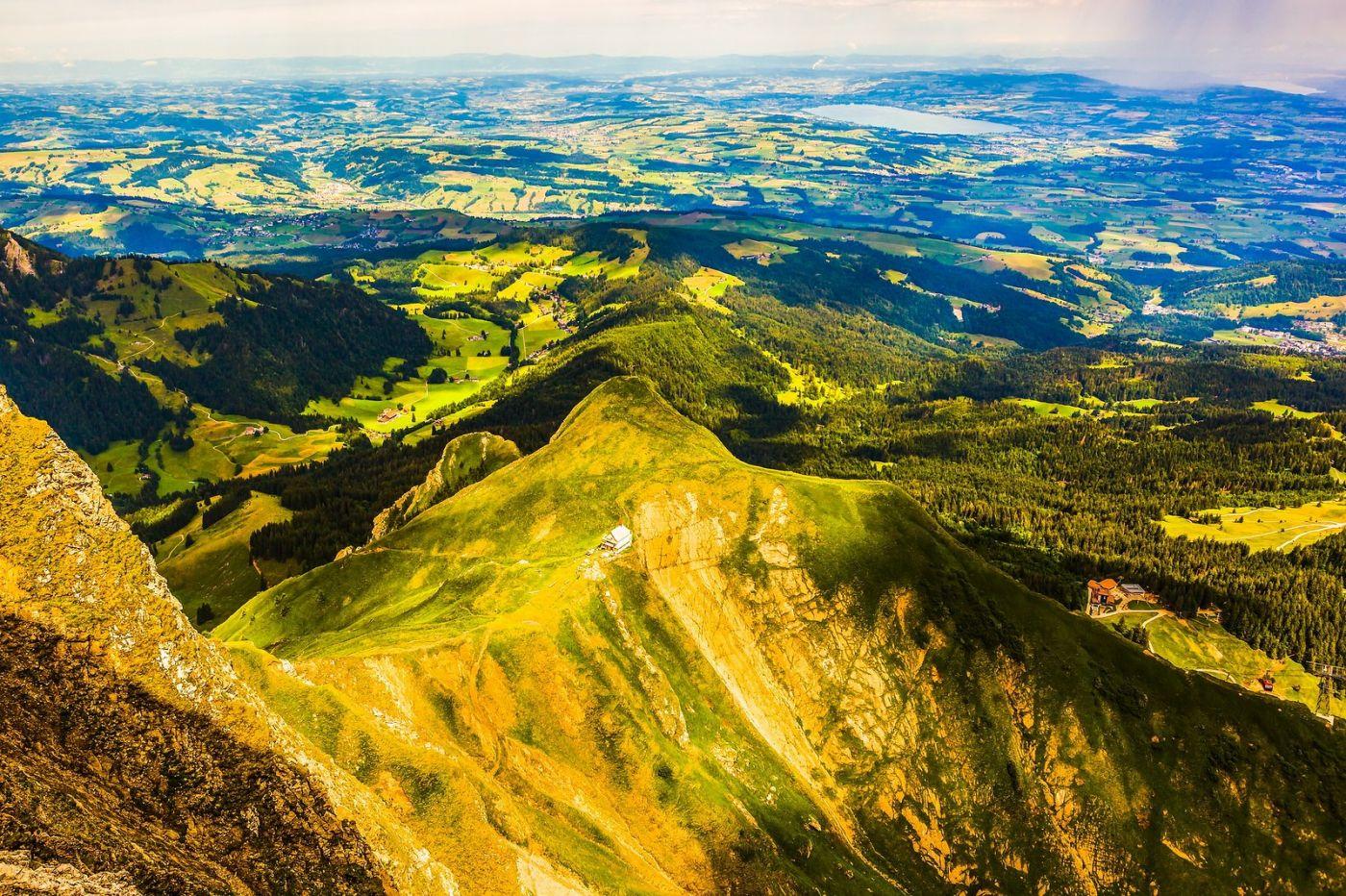 瑞士卢塞恩(Lucerne),山顶眺望_图1-17