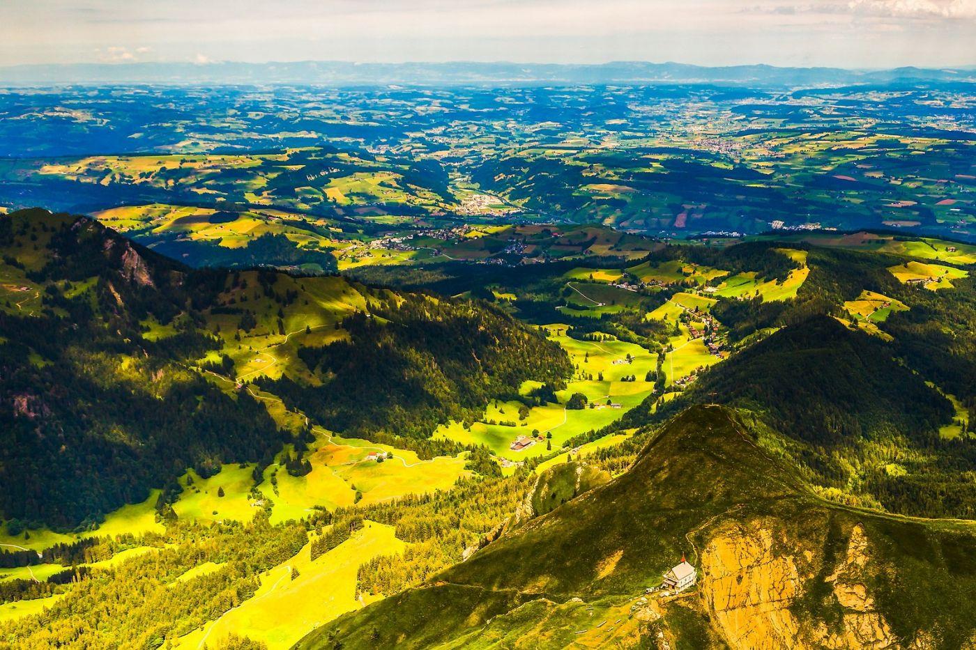 瑞士卢塞恩(Lucerne),山顶眺望_图1-21