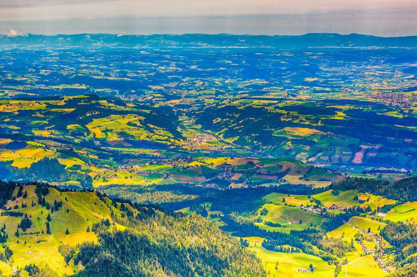 瑞士卢塞恩(Lucerne),山顶眺望_图1-22