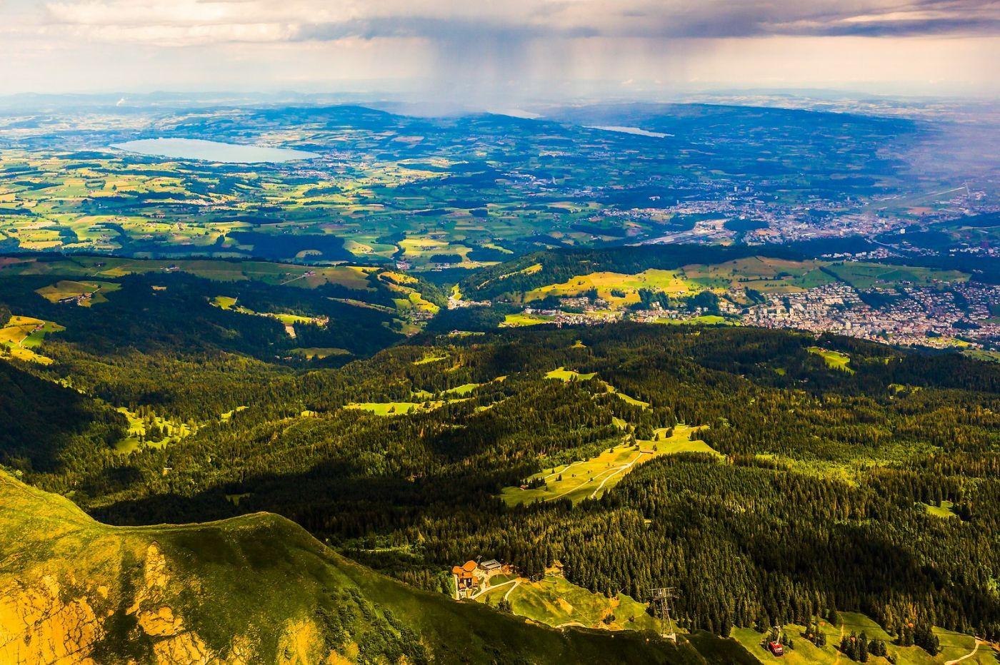 瑞士卢塞恩(Lucerne),山顶眺望_图1-23