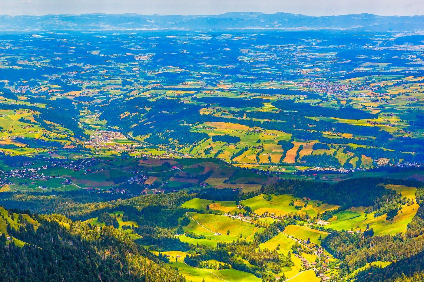 瑞士卢塞恩(Lucerne),山顶眺望_图1-24