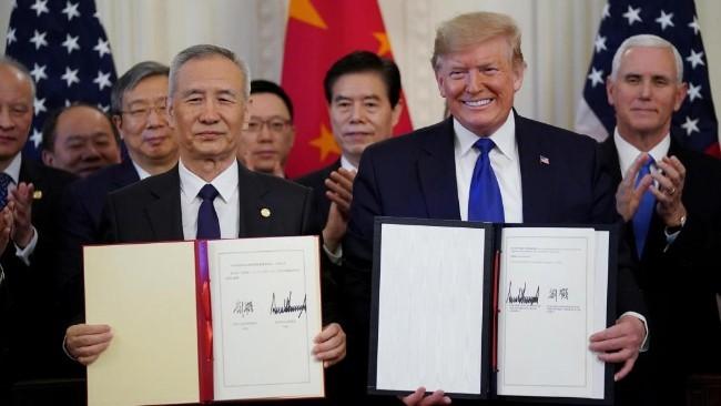 祝贺美中贸易第一阶段协议正式签署_图1-1