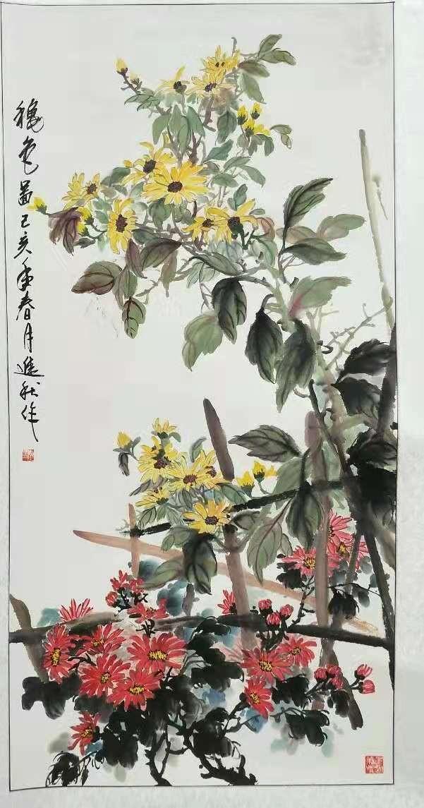 画家张进秋作品欣赏_图1-2
