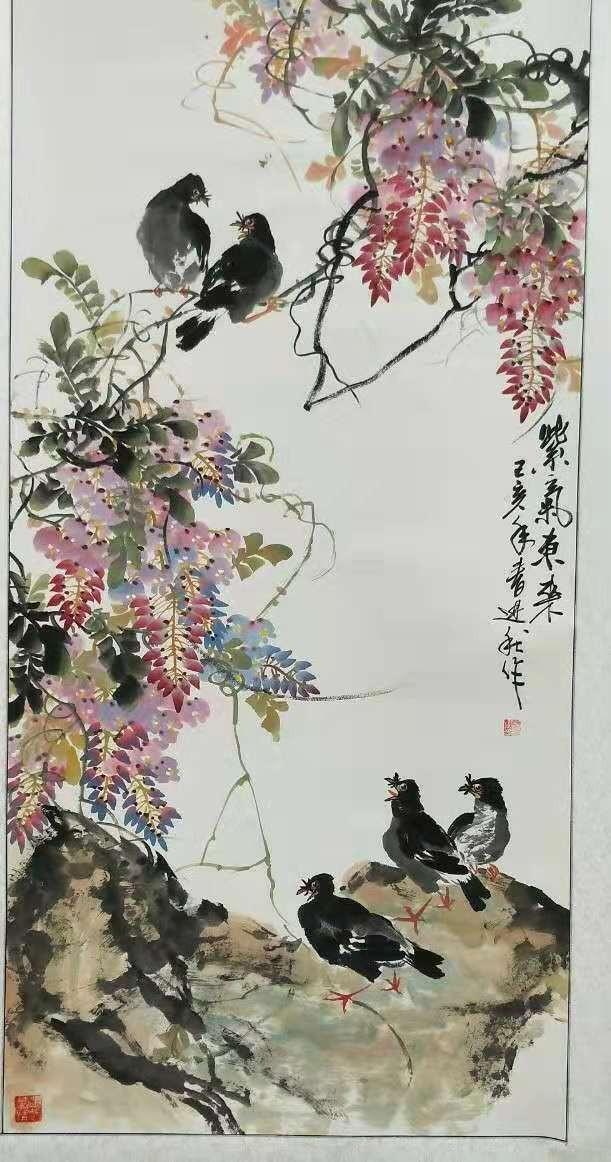 画家张进秋作品欣赏_图1-3