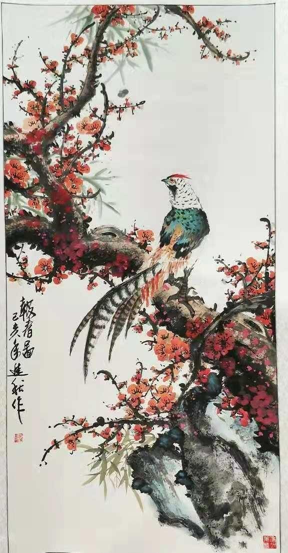 画家张进秋作品欣赏_图1-4
