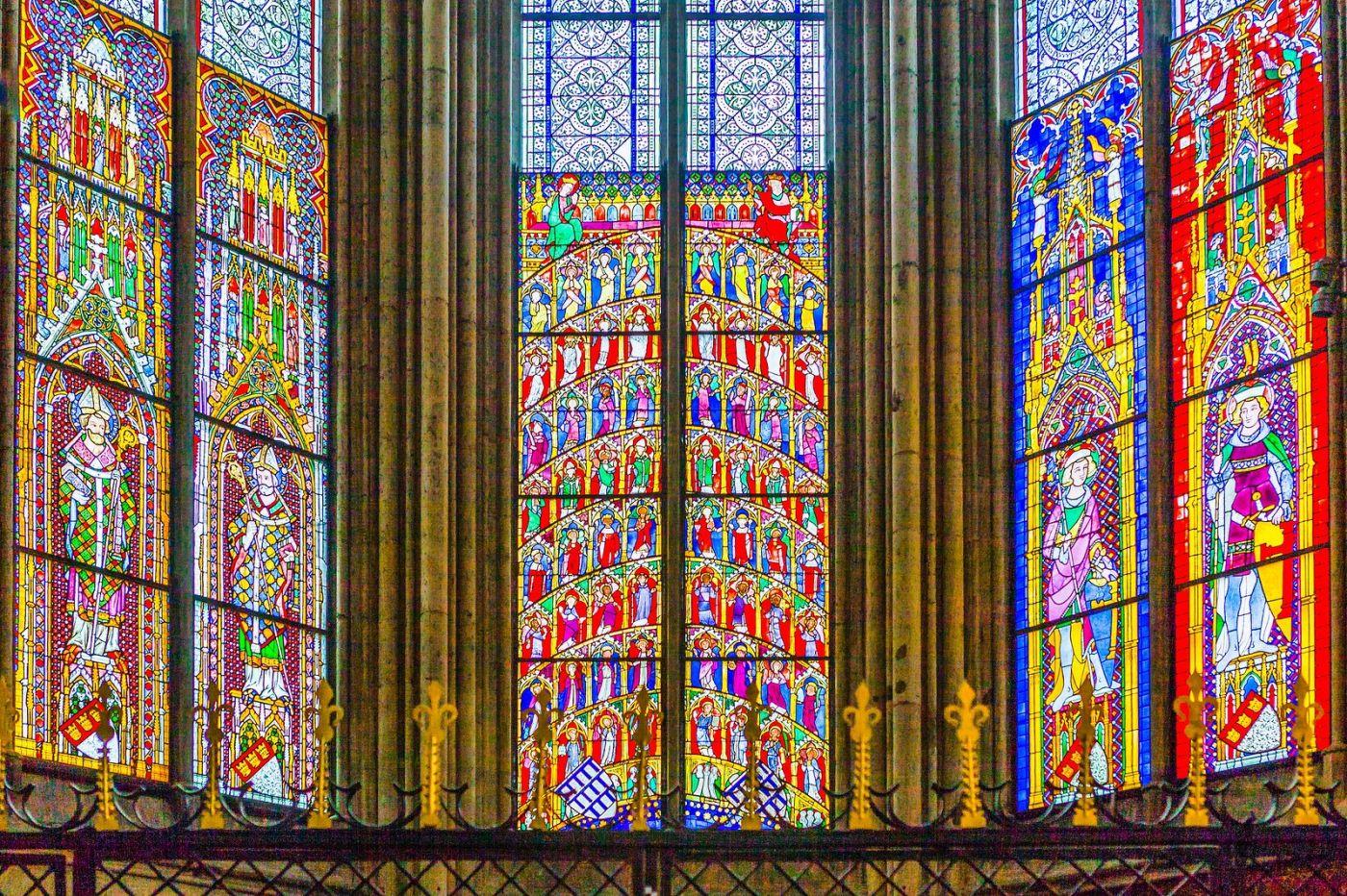 德国科隆大教堂,独一无二的窗户玻璃_图1-29