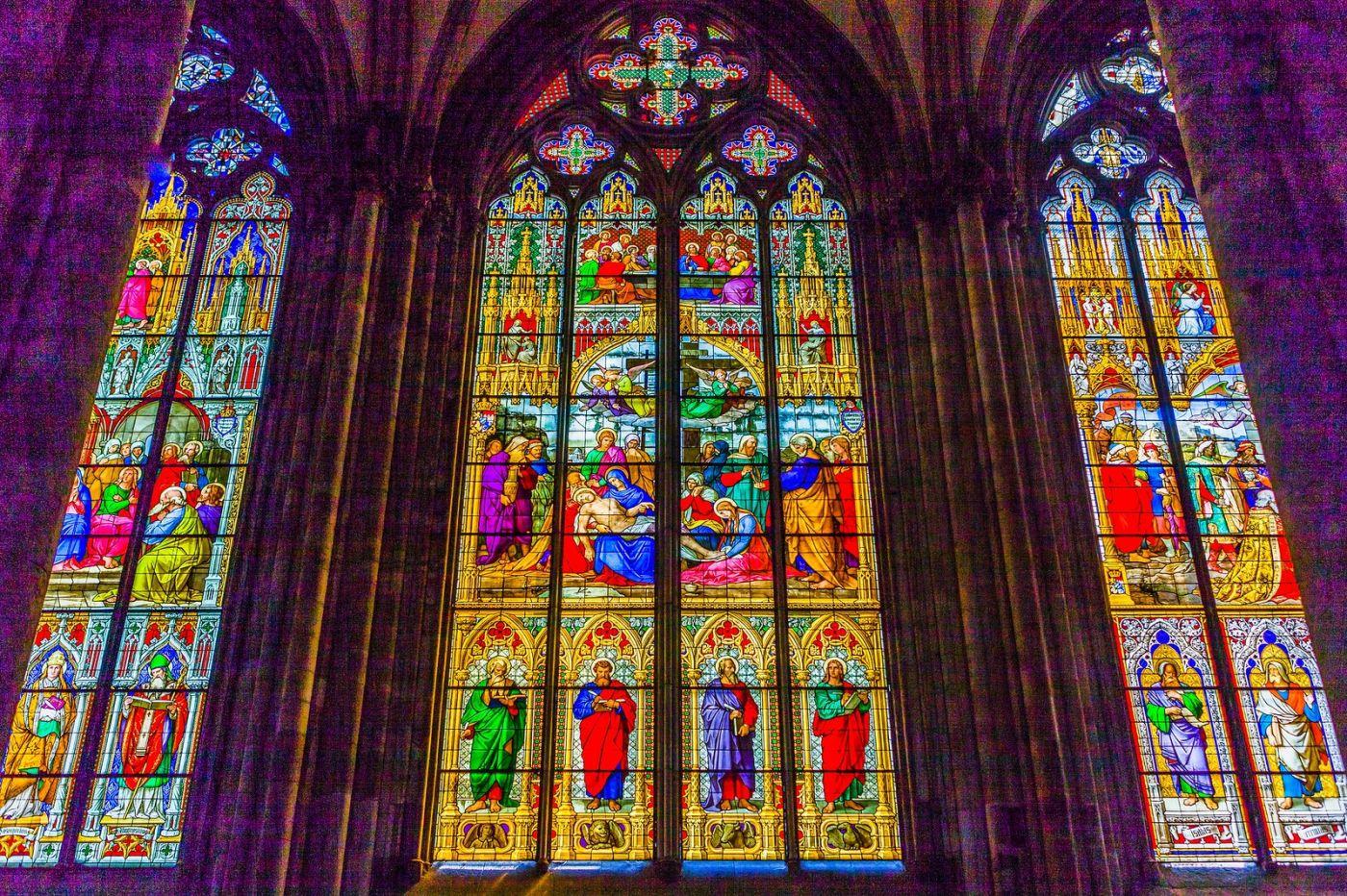 德国科隆大教堂,独一无二的窗户玻璃_图1-32