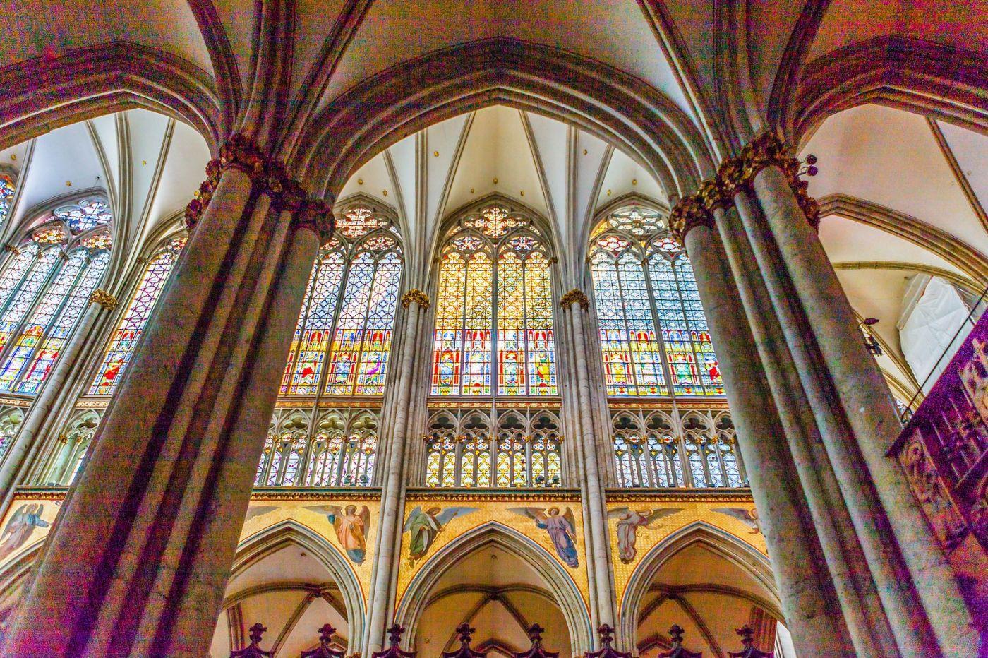 德国科隆大教堂,独一无二的窗户玻璃_图1-26