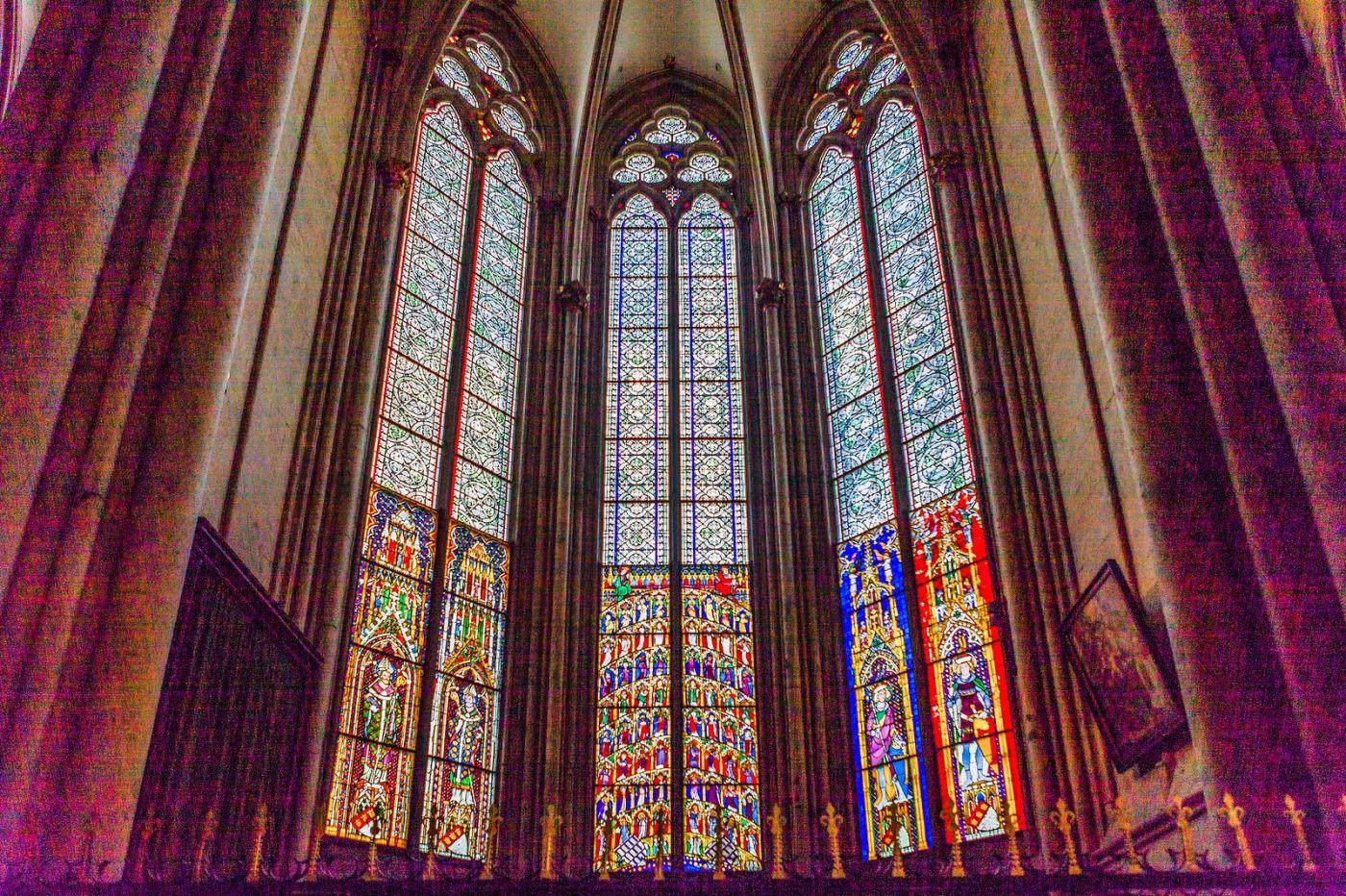 德国科隆大教堂,独一无二的窗户玻璃_图1-21