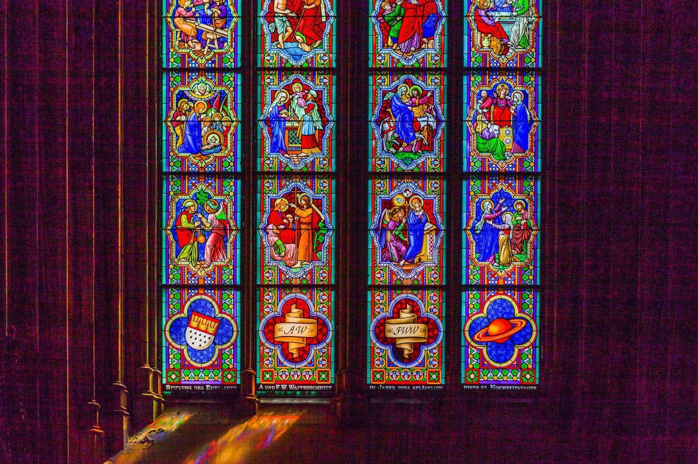 德国科隆大教堂,独一无二的窗户玻璃_图1-23