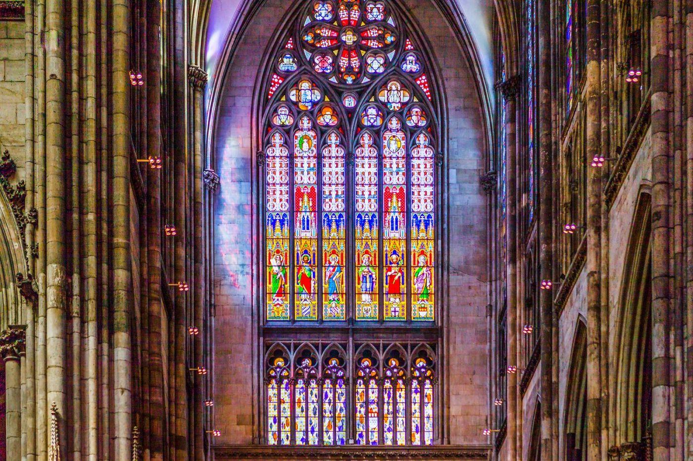 德国科隆大教堂,独一无二的窗户玻璃_图1-20