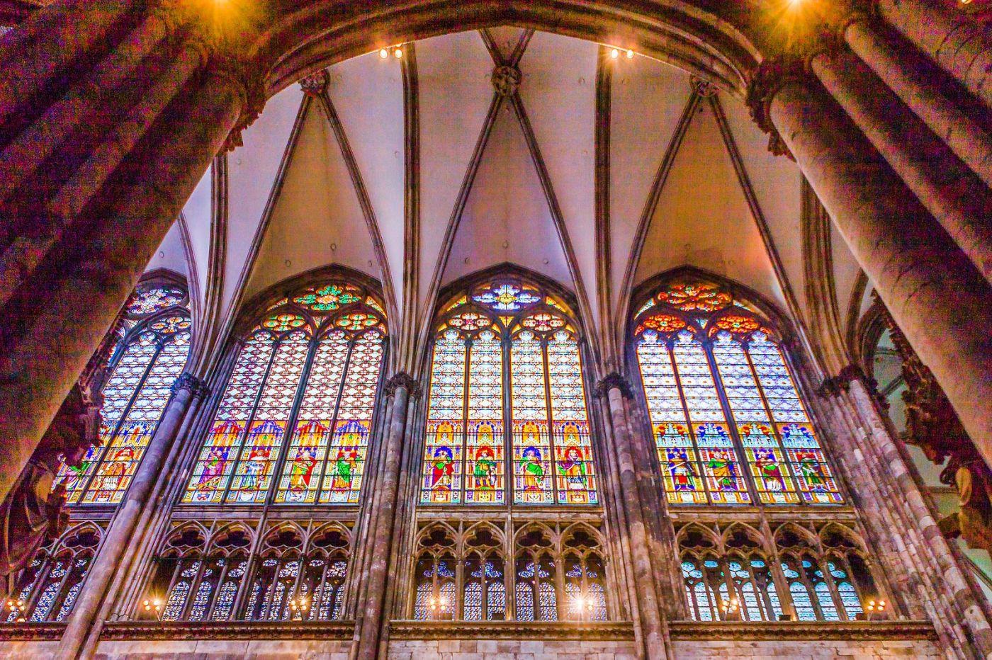 德国科隆大教堂,独一无二的窗户玻璃_图1-12