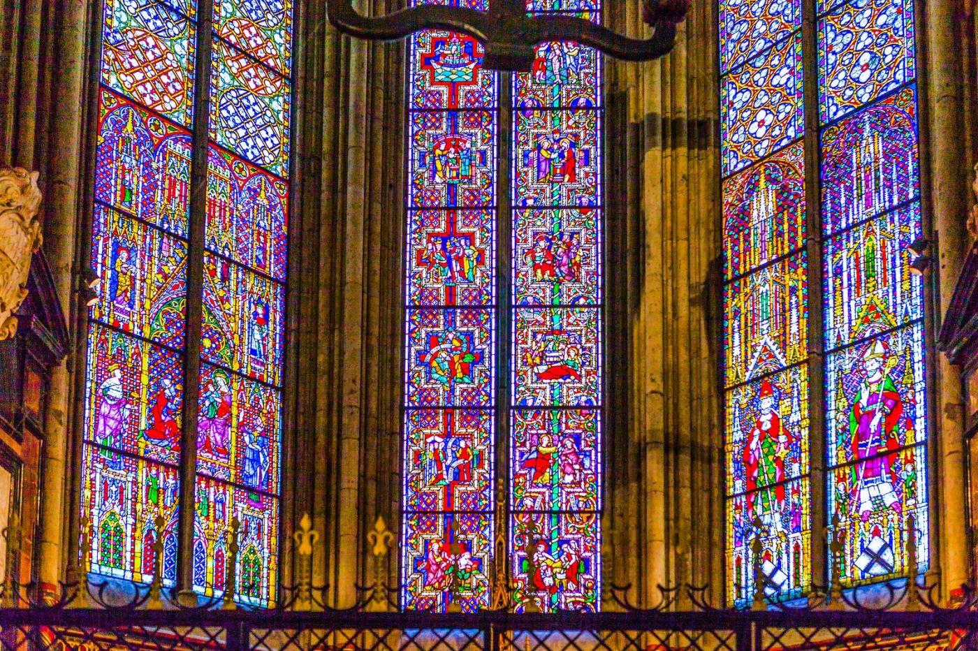 德国科隆大教堂,独一无二的窗户玻璃_图1-5