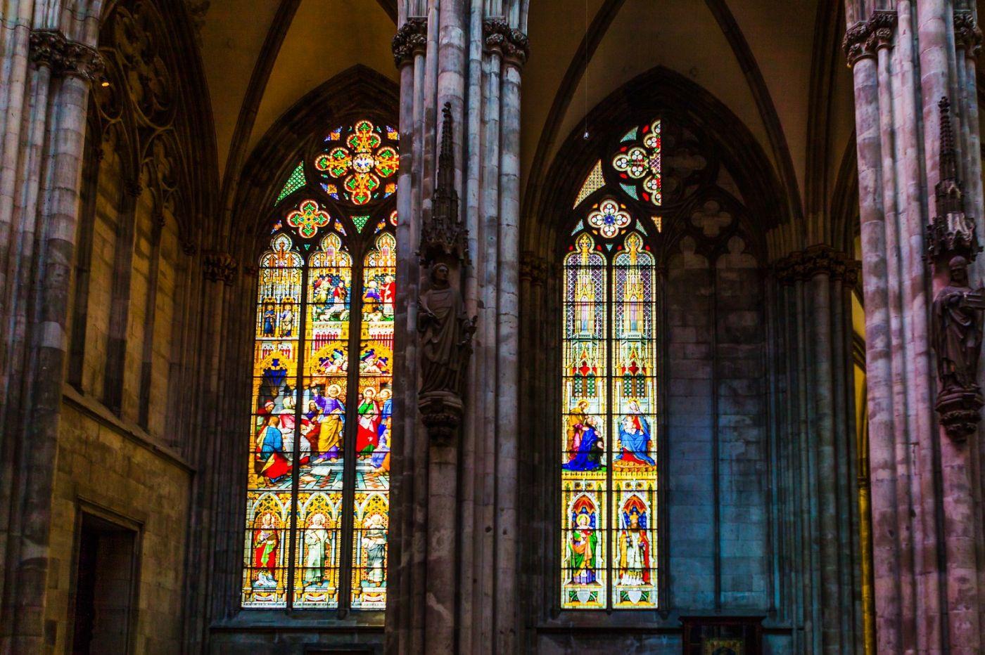 德国科隆大教堂,独一无二的窗户玻璃_图1-7