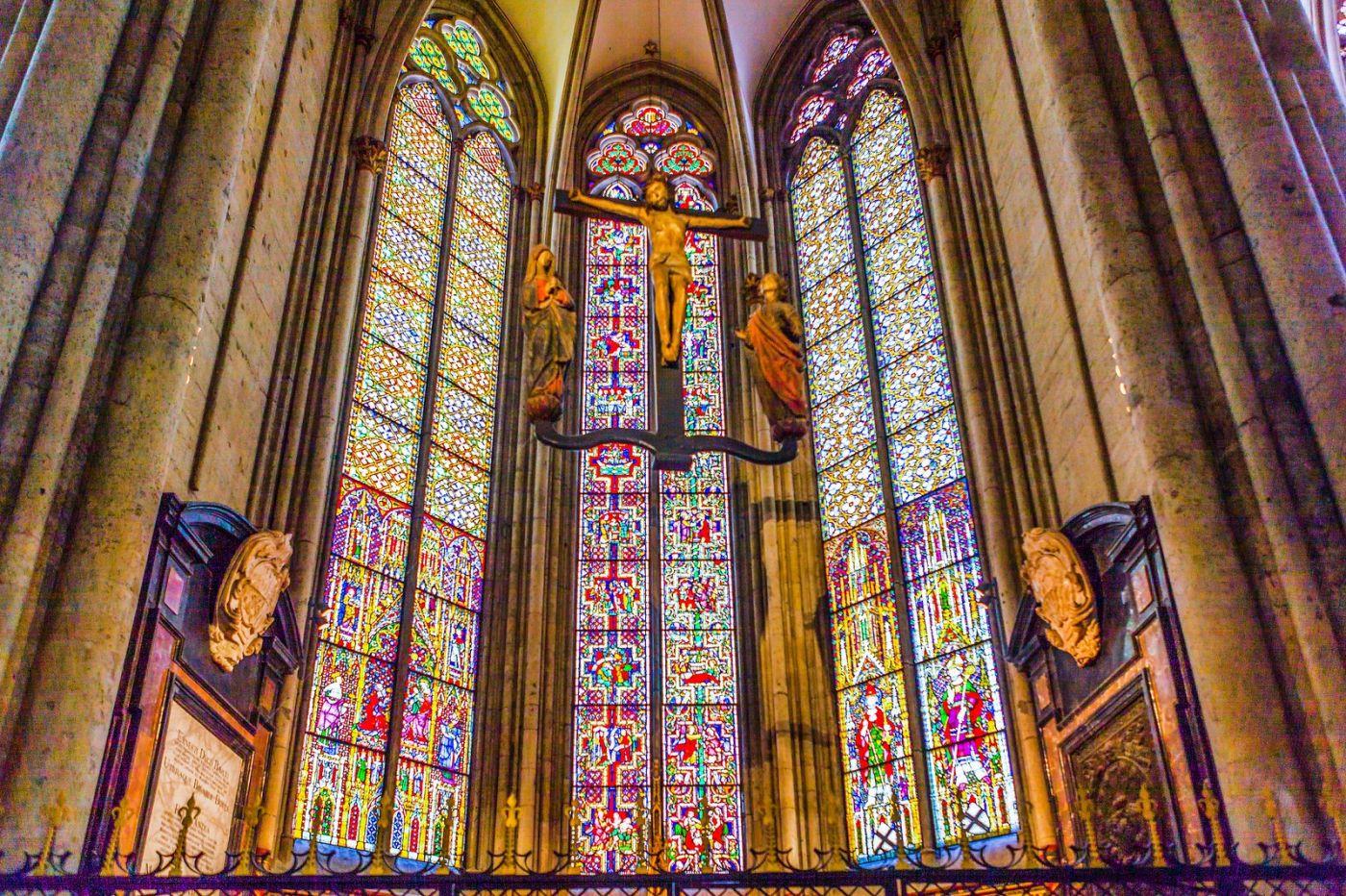 德国科隆大教堂,独一无二的窗户玻璃_图1-8