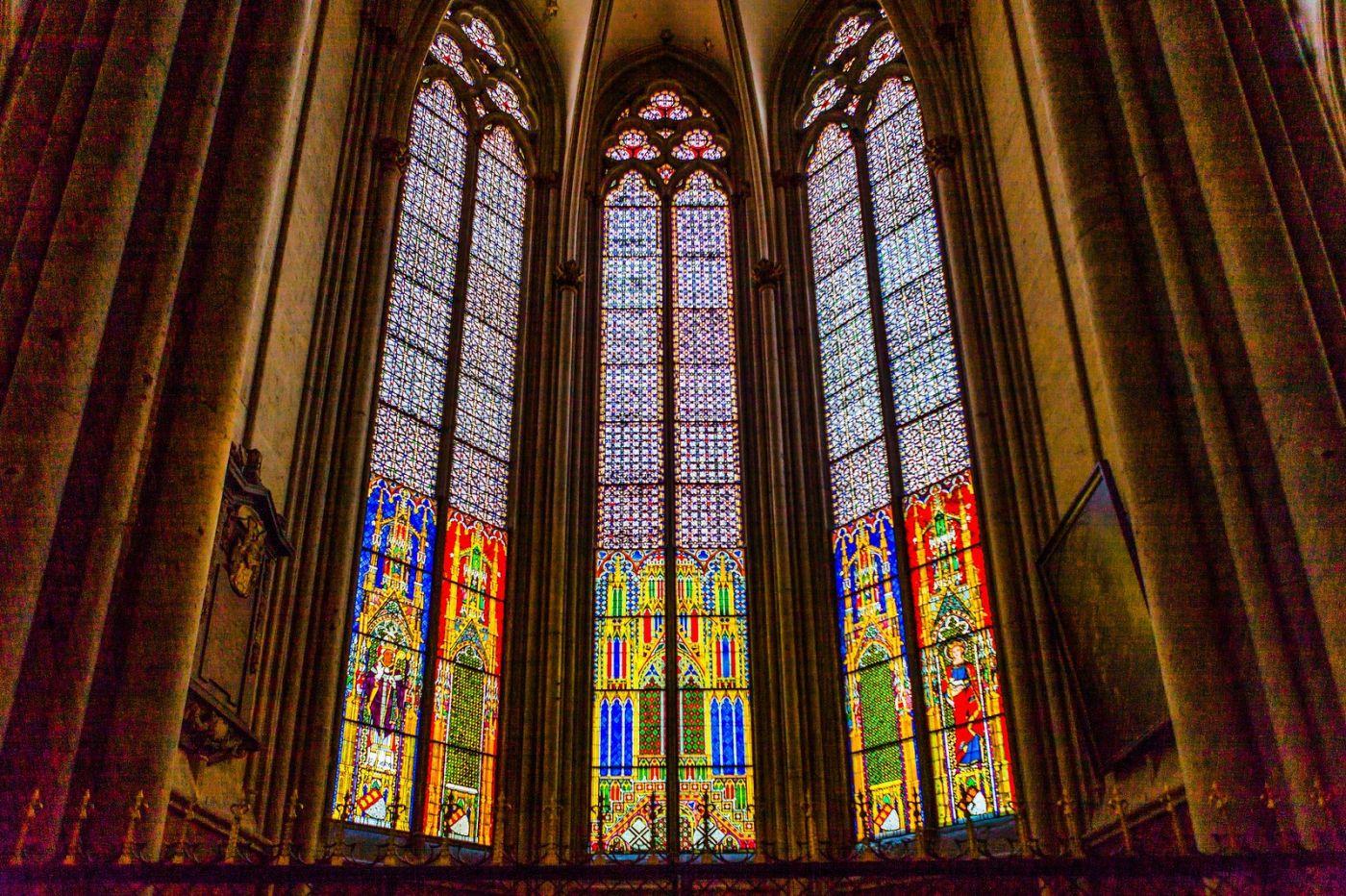 德国科隆大教堂,独一无二的窗户玻璃_图1-3