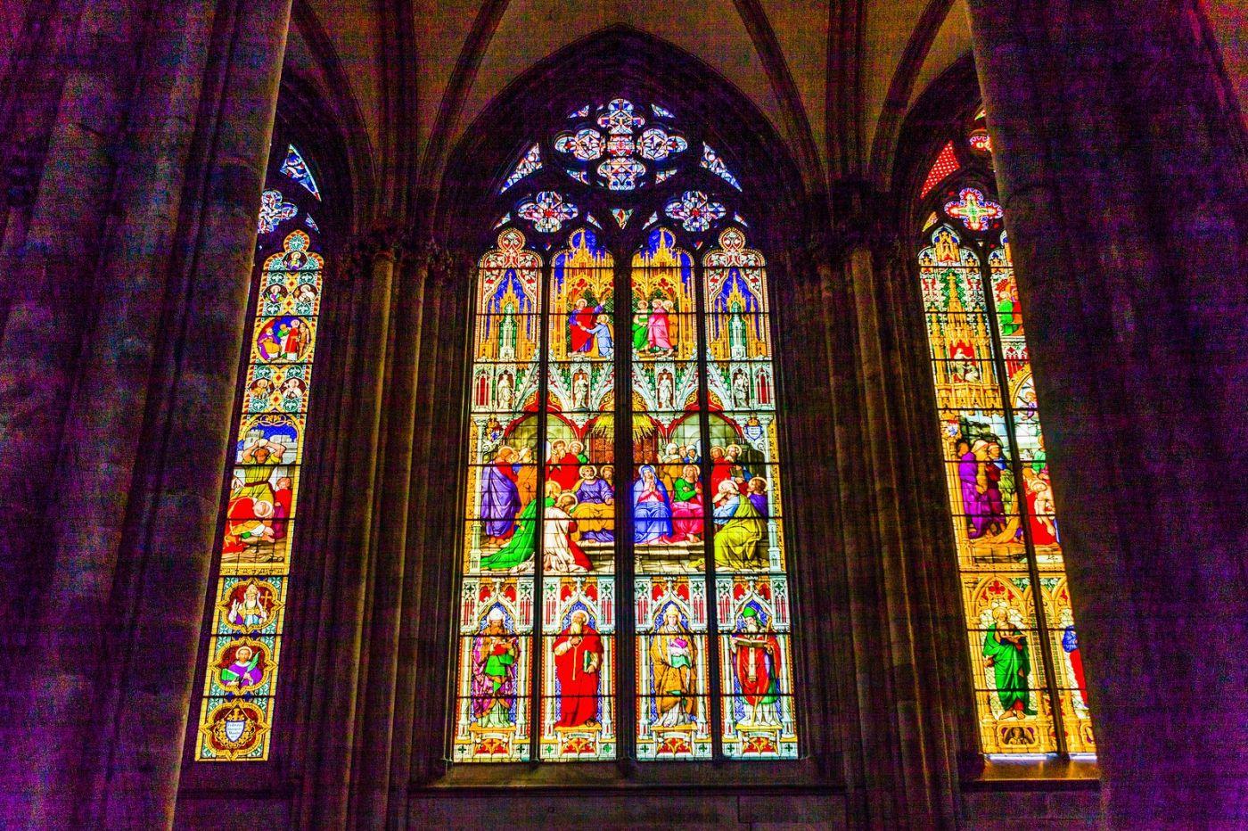 德国科隆大教堂,独一无二的窗户玻璃_图1-1
