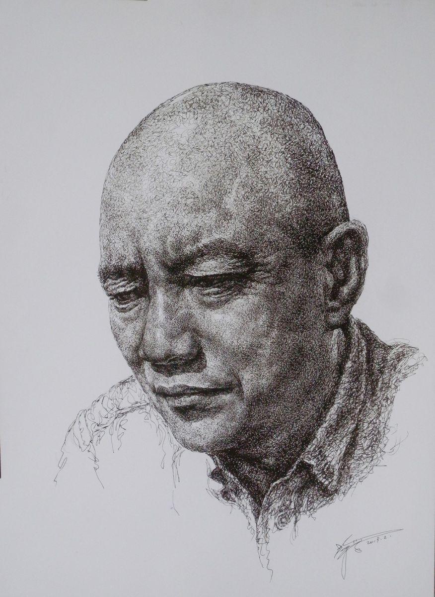 山雪钢笔画2019年全集_图1-9