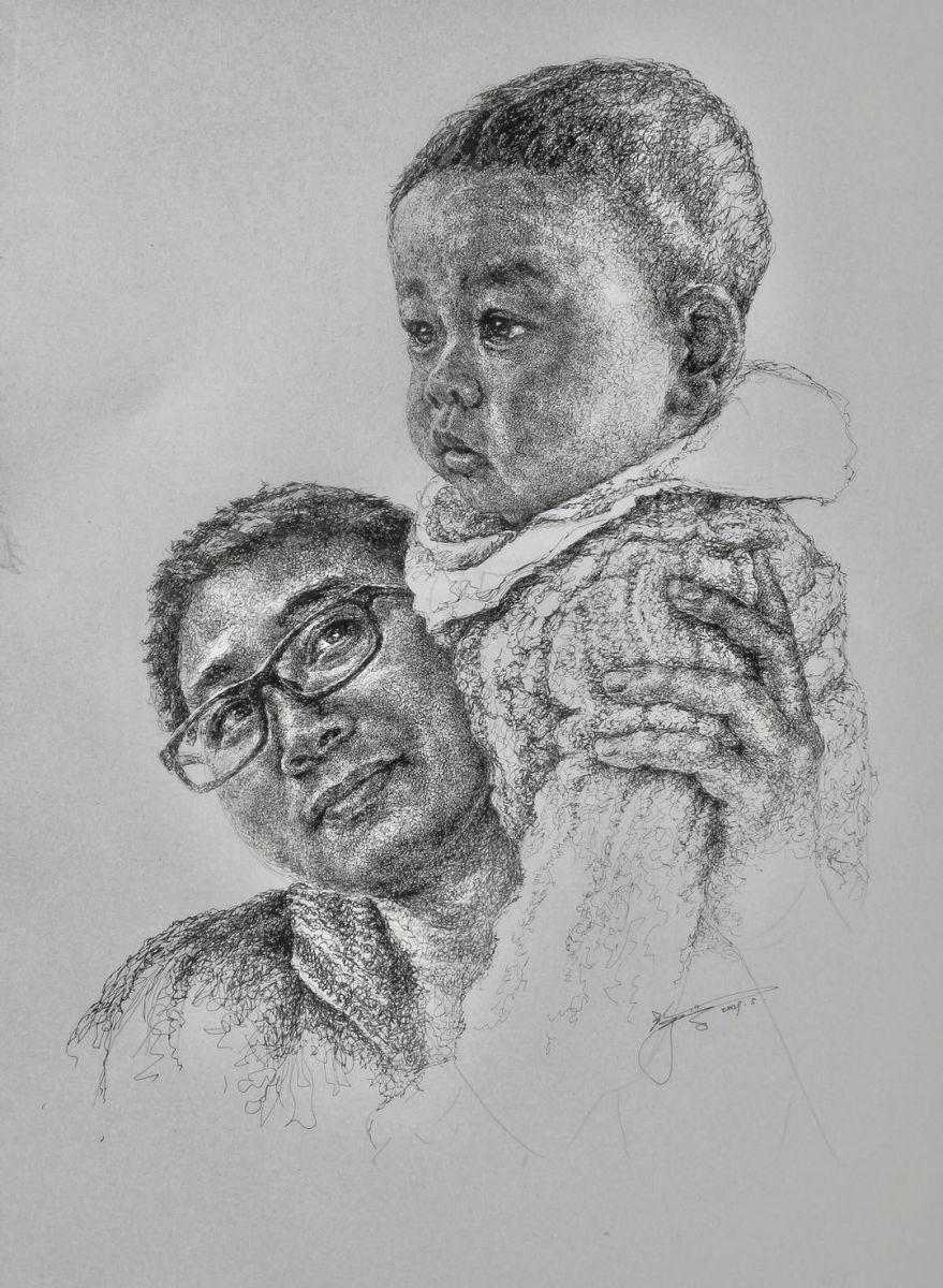 山雪钢笔画2019年全集_图1-14
