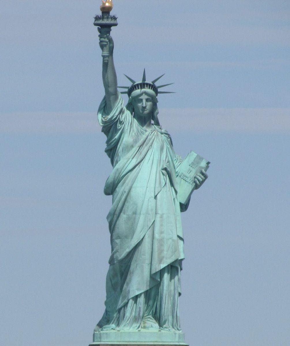 纽约市2月5日的创普弹劾案集会游行_图1-7
