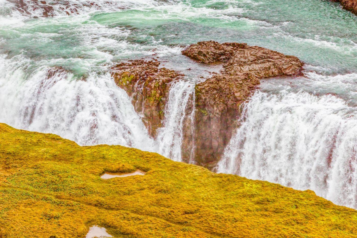 冰岛古佛斯瀑布(Gullfoss),气势磅礴_图1-27