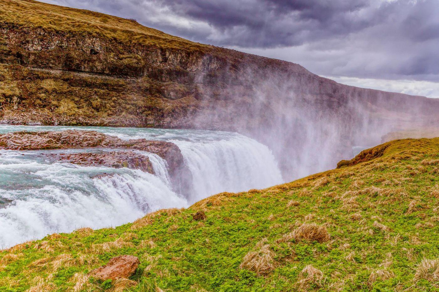 冰岛古佛斯瀑布(Gullfoss),气势磅礴_图1-28