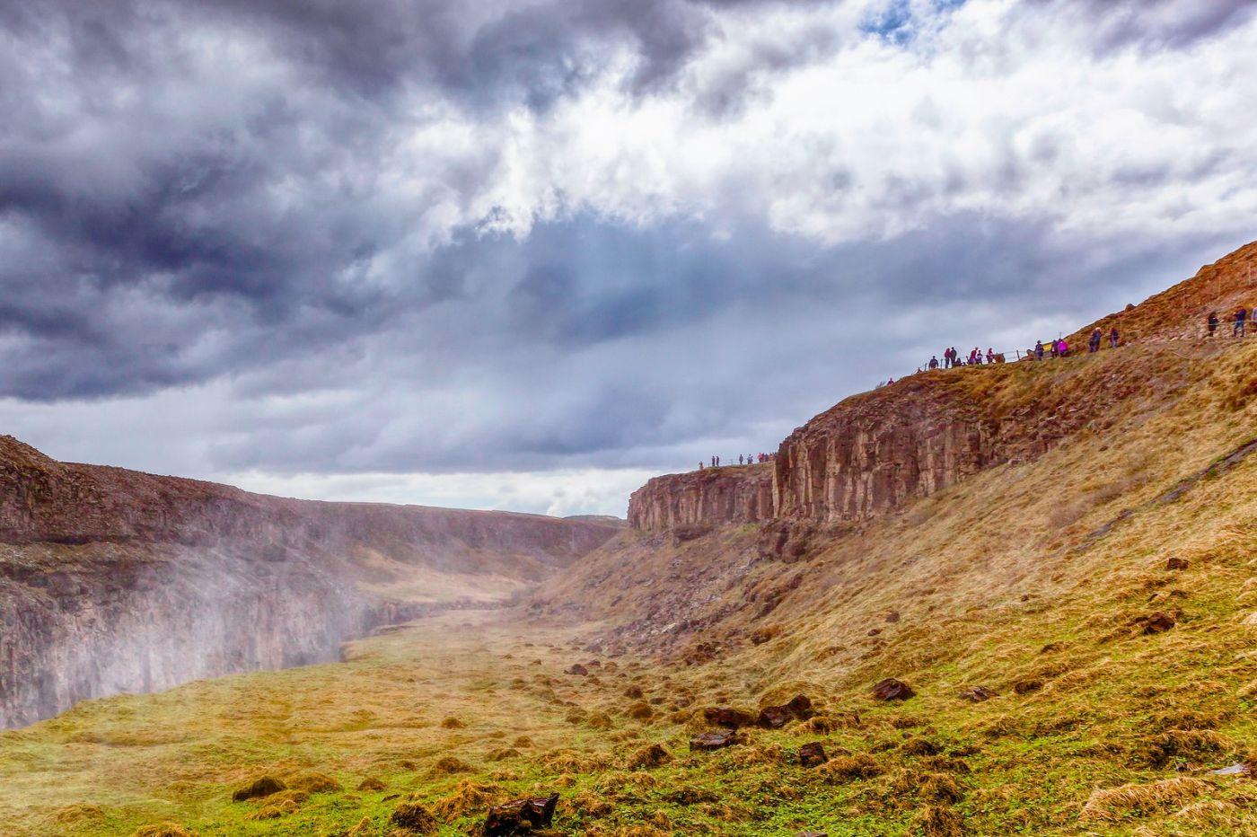 冰岛古佛斯瀑布(Gullfoss),气势磅礴_图1-23