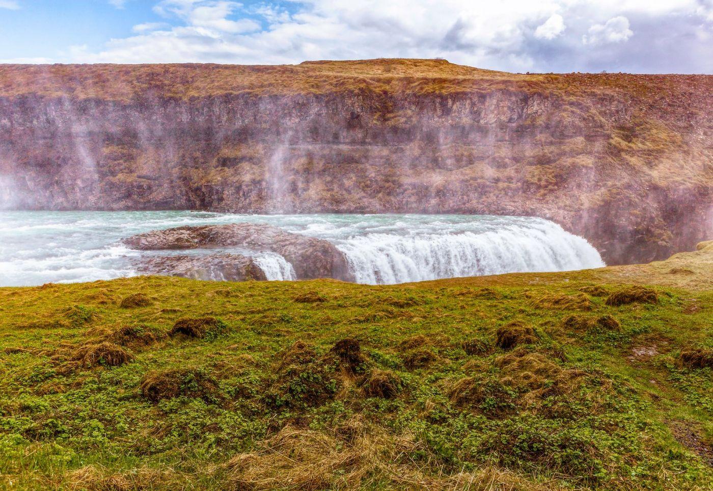 冰岛古佛斯瀑布(Gullfoss),气势磅礴_图1-24