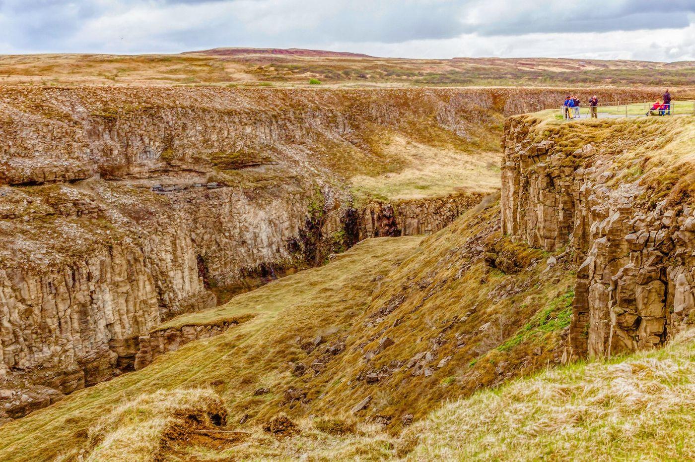 冰岛古佛斯瀑布(Gullfoss),气势磅礴_图1-14