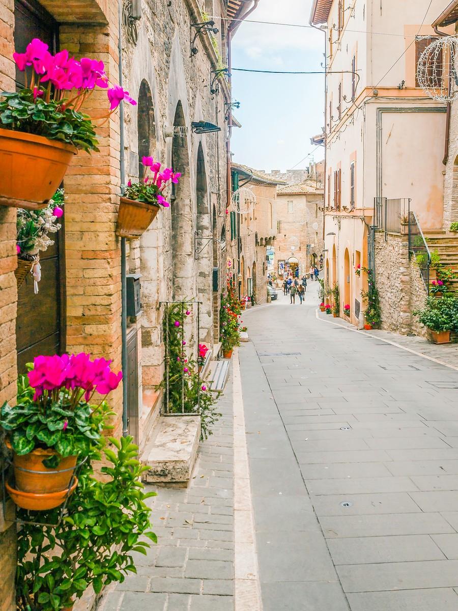 意大利阿西西(Assisi), 很有情调的小城_图1-37
