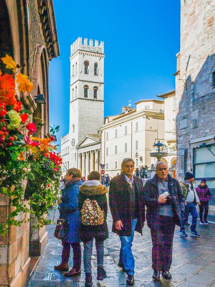 意大利阿西西(Assisi), 很有情调的小城_图1-27