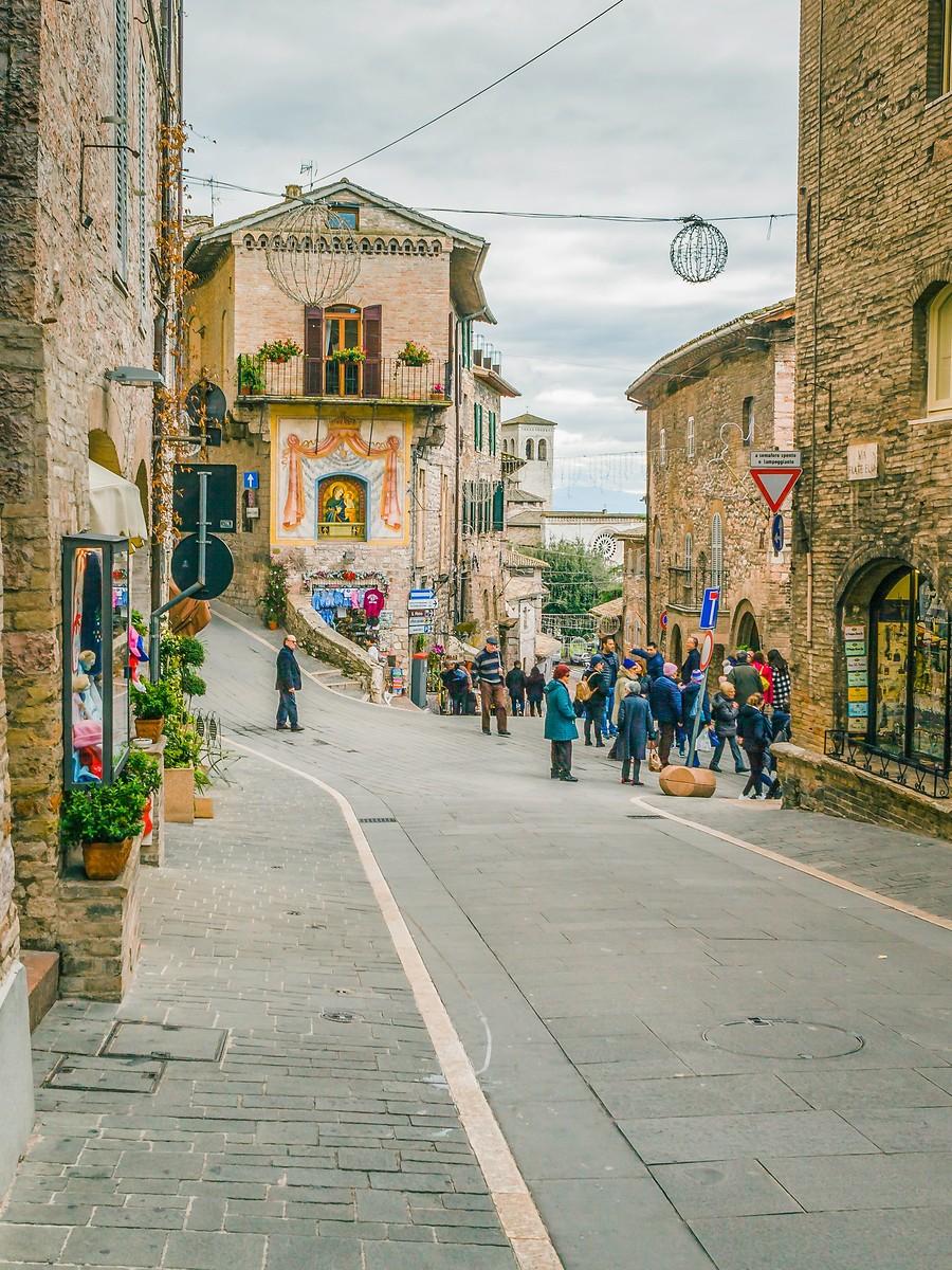 意大利阿西西(Assisi), 很有情调的小城_图1-24