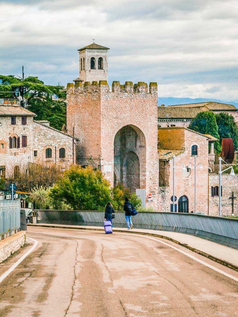 意大利阿西西(Assisi), 很有情调的小城_图1-16