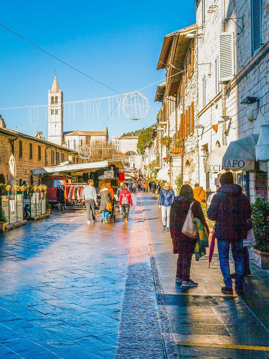 意大利阿西西(Assisi), 很有情调的小城_图1-13