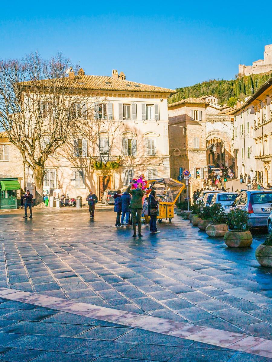 意大利阿西西(Assisi), 很有情调的小城_图1-9