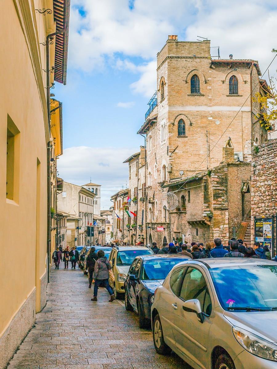 意大利阿西西(Assisi), 很有情调的小城_图1-12