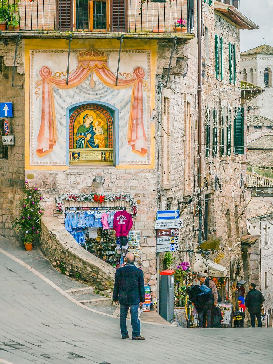 意大利阿西西(Assisi), 很有情调的小城_图1-7