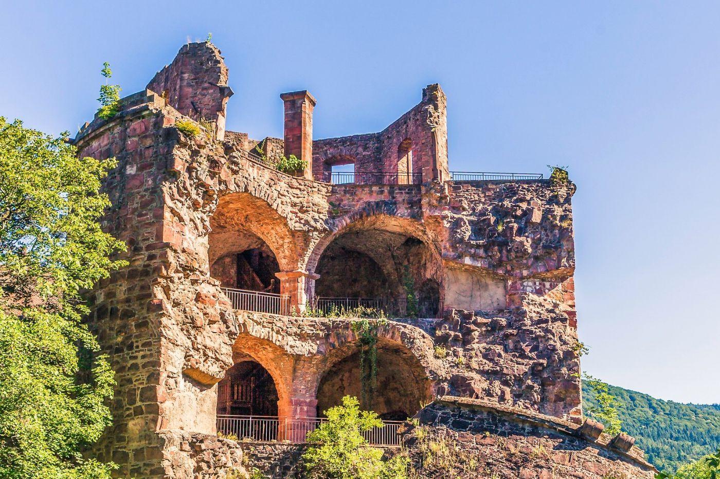 德国曼海姆(Mannheim),古城遗迹_图1-16