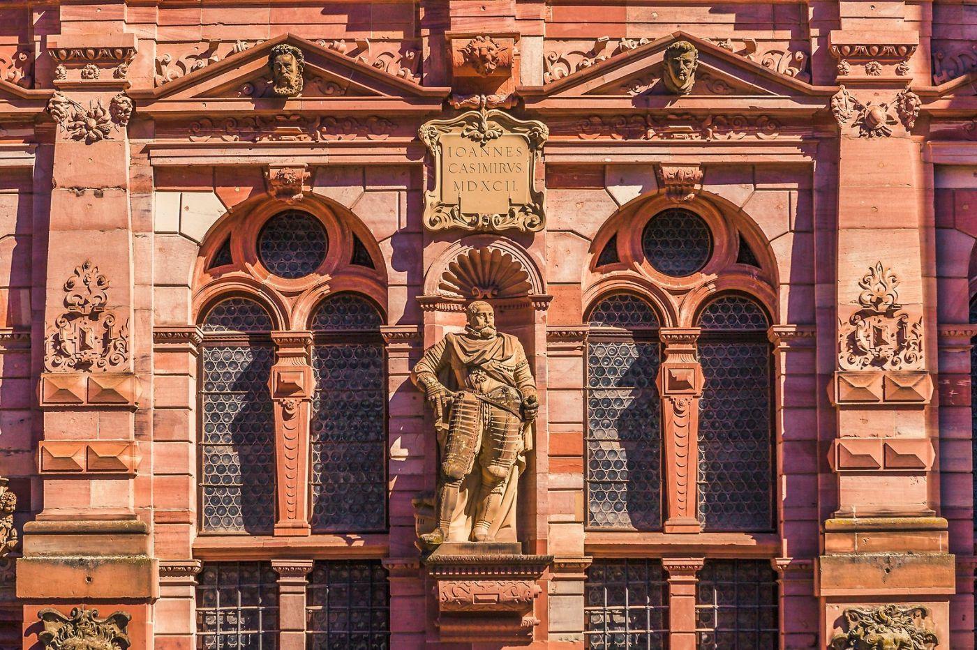 德国曼海姆(Mannheim),古城遗迹_图1-14