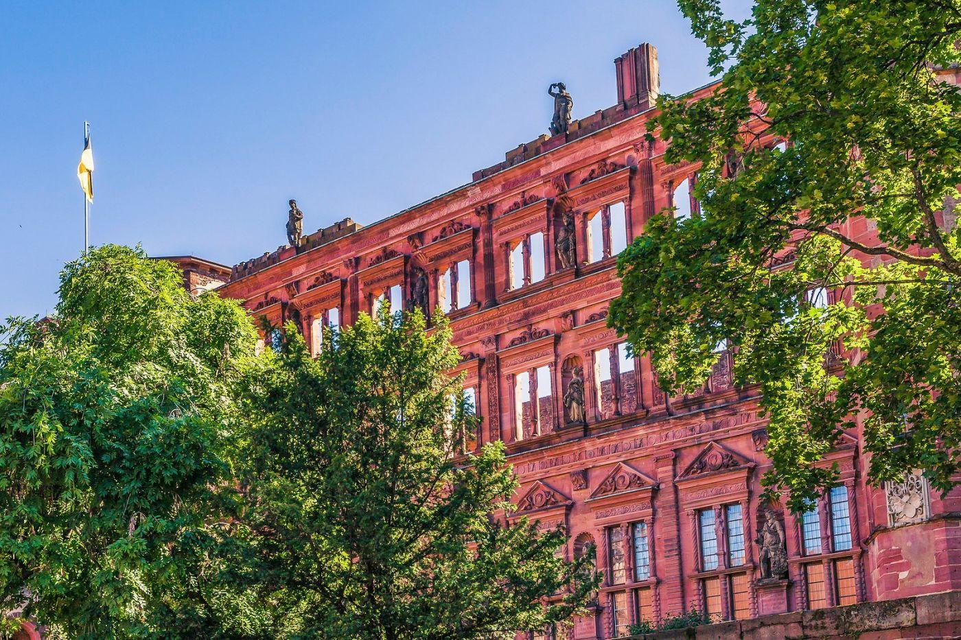 德国曼海姆(Mannheim),古城遗迹_图1-10