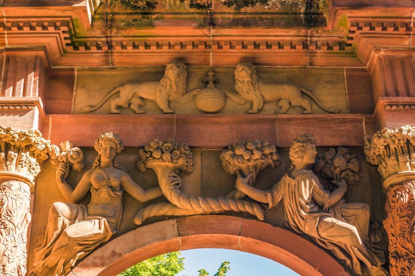 德国曼海姆(Mannheim),古城遗迹_图1-12