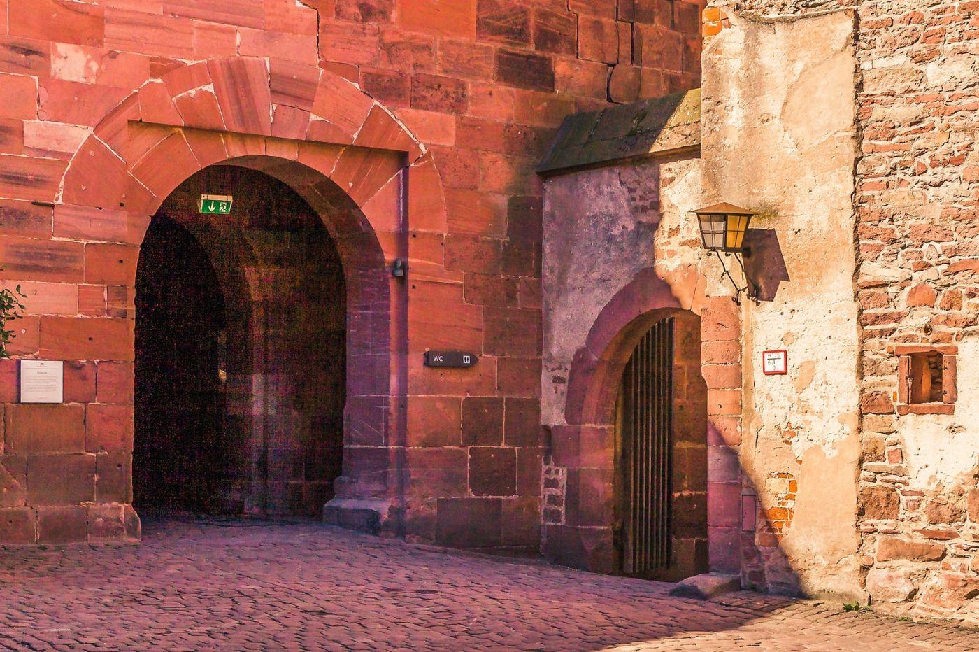 德国曼海姆(Mannheim),古城遗迹_图1-6