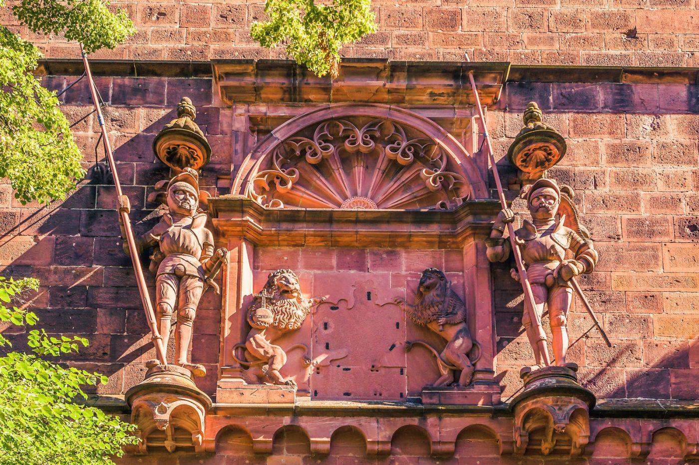 德国曼海姆(Mannheim),古城遗迹_图1-17