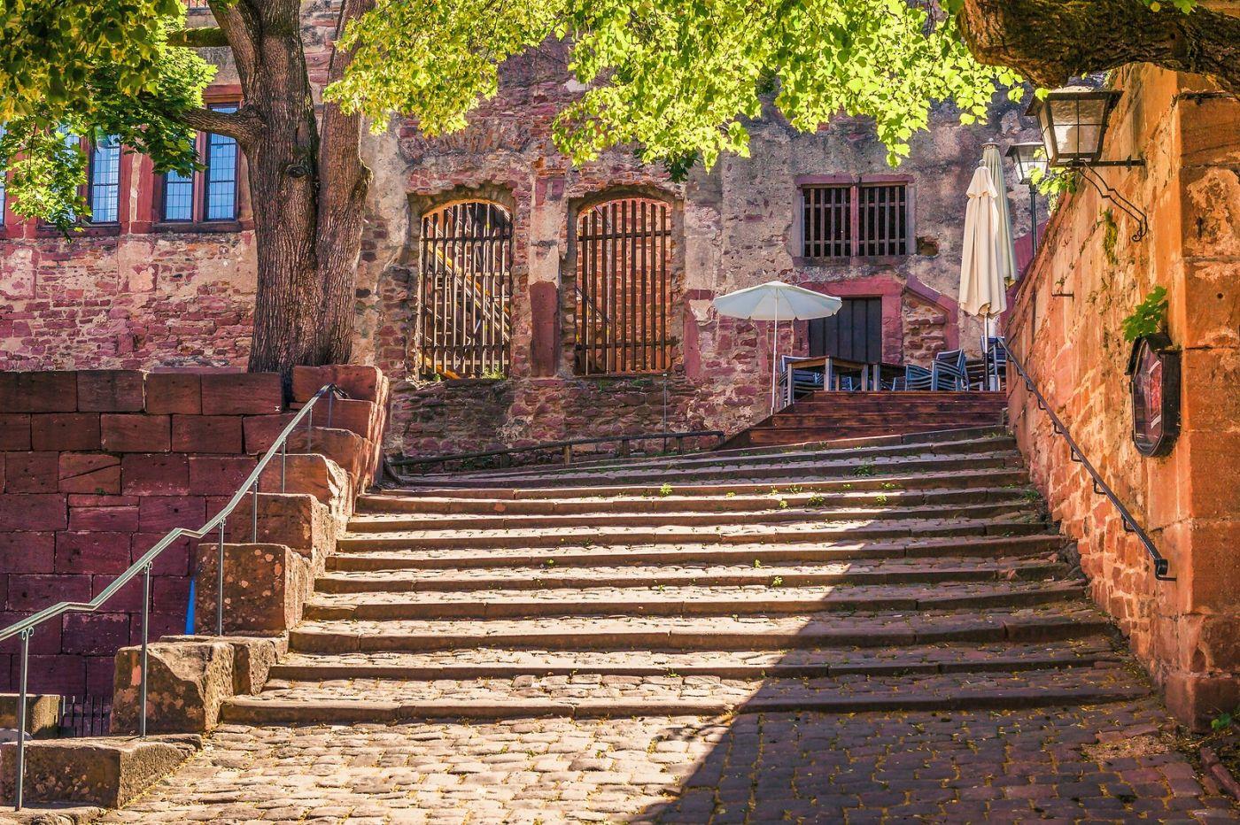 德国曼海姆(Mannheim),古城遗迹_图1-19