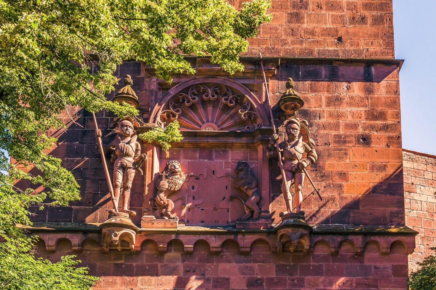 德国曼海姆(Mannheim),古城遗迹_图1-28