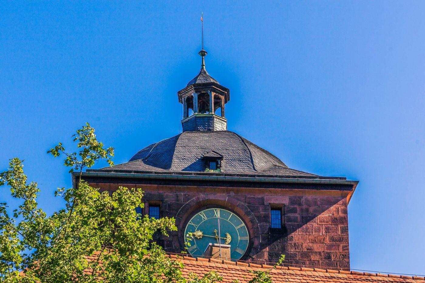 德国曼海姆(Mannheim),古城遗迹_图1-40