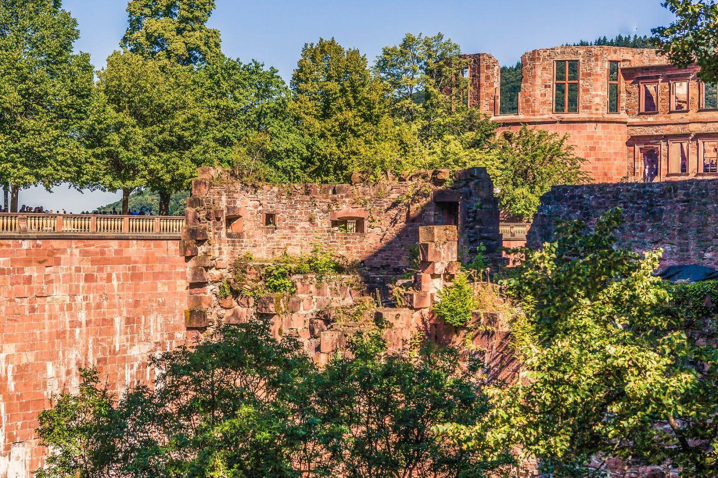德国曼海姆(Mannheim),古城遗迹_图1-37