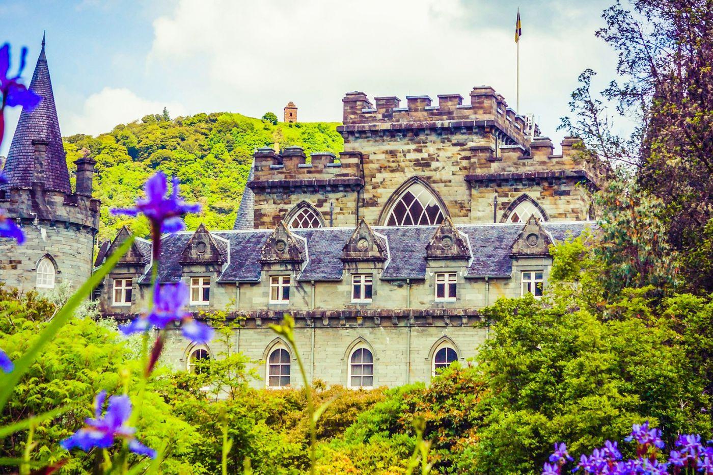苏格兰Inveraray城堡,走进探秘_图1-6